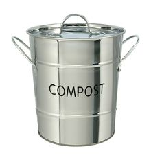 Pin By Rorence /Bakeware Vendor On Kitchen Stainless Steel Compost Pail |  Pinterest | Compost Pail And Composting
