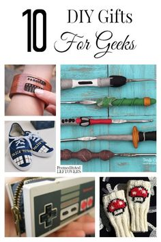 Looking for great geeky gifts you can make yourself? Here are 10 DIY Gifts for Geeks to knock the socks off your loved one!