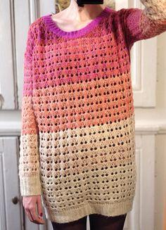 À vendre sur #vintedfrance ! http://www.vinted.fr/mode-femmes/pull-overs/27214443-robe-pull-en-maille-ajouree
