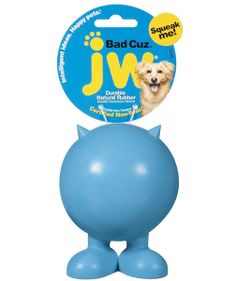 JW Bad Cuz Durable Rubber Squeaky Dog Toy - Serious Squeaker Medium for sale online Dog Chew Toys, Dog Toys, Popular Toys, Interactive Toys, Pet Mat, Happy Animals, Natural Flavors, Pet Supplies, Your Pet