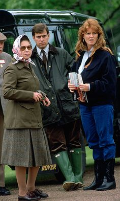 The Windsor Horse Show is still a must-see for Her Majesty, seen here at the event in 1987 with son Prince Andrew and his now ex-wife the Duchess of York.