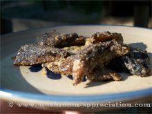 Fried morel mushroom recipe