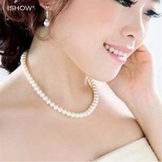 Cheap gift card, Buy Quality necklace picture directly from China necklace gift set Suppliers: Womens jewellery colliers big chain simulated pearl necklace bridal jewelry necklace female white wedding gifts pearl necklace Cheap Pearl Necklace, White Necklace, Necklace Types, Collar Necklace, Necklace Charm, Necklace Price, Bridal Necklace, Strand Necklace, E Bay