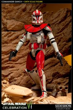 Sideshow Collectibles Star Wars Clone Commander Ganch (Exclusive Edition)