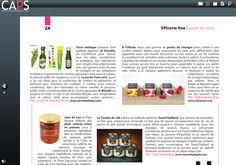 Recommandé par le magazine CAPS Toasti'Gaillard, magazine pour les professionnels des magasins de proximité. Septembre 2014