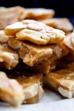 salted cayenne peanut brittle!