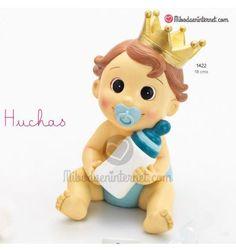Hucha bebe niño corona celeste Princess Peach, Character, Toddler Girls, Kids Birth, Piggy Bank, Pancakes, Crowns, Hilarious, Bebe