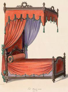 Beds (furniture),  Image number:SIL12-2-124b