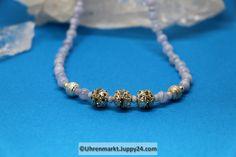 Chalcedon - Kette mit praktischem Magnetverschluss 47 cm - Beaded Bracelets, Jewelry, Magnets, Clock, Necklaces, Jewlery, Jewels, Jewerly, Jewelery