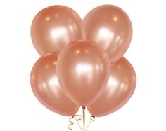 Rose Gold Balloons Latex, 10 Pack Pink, Blush, Gold, Ivory and White Balloons Pick Your Colors, Blush and Gold Rose Gold Balloons