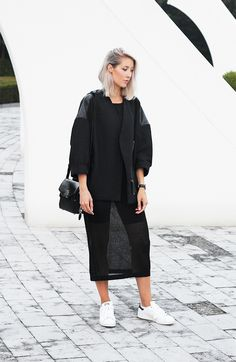 Outfit | dress | Helmut Lang jacket | MyDubio