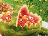 Watermelon Baskets- How Cute for a tea party!