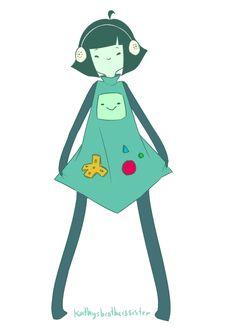 Human Form. BMO (Beemo)   Adventure Time