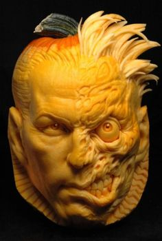 two face pumpkin!