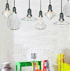 Корейский современный и простой кристалл ваза шар лампа люстра творческой личности три Continental ресторан освещение -tmall.com Lynx