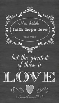 Items similar to Large or Medium Faith Hope Love Chalkboard Style Sign Board 1 Corinthinians on Etsy Christian Devotions, Christian Faith, Christian Quotes, Faith Scripture, Scripture Quotes, Gods Love, Love The Lord, Biblical Inspiration, Favorite Bible Verses