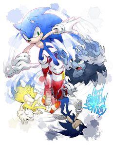 Sonic's 21st birthday (June 23)  Sonic the Hedgehog