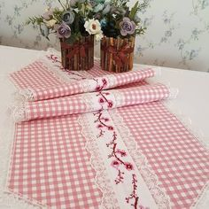 153 Likes, 8 Comments - Patish Handmade Home, Homemade Home Decor, Most Luxurious Hotels, Textiles, Tablerunners, Table Covers, Home Textile, Sewing Crafts, Diy And Crafts