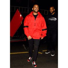 The Weeknd Arriving In The Avenue Nightclub In Hollywood.