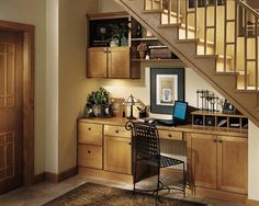 office under stairs - Google Search   Future Home Ideas ...
