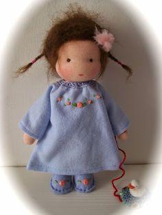 Een popje voor mij van Ineke Gray! ter ere van het 40 jarig jubileum van onze winkel Rozemarijn Zeist...Wat een prachtig kado!
