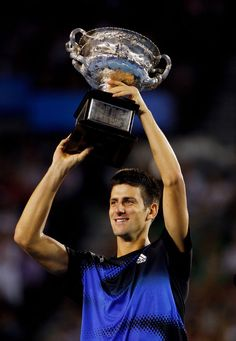 2008 Australian Open: The Coming of Age of Novak Djokovic. Ajde, Nole!