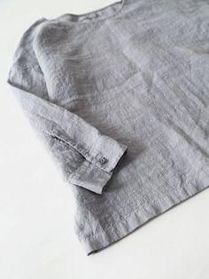linen washer pullover | evam eva.