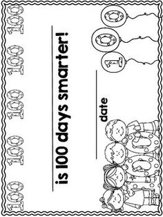 Day of School Booklet English 100 Days Of School, School Stuff, Back To School, 100s Day, Sentence Stems, Dual Language Classroom, Advent Ideas, Toolbox, Booklet
