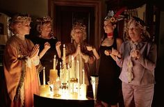 Still of Sandra Bullock, Ellen Burstyn, Fionnula Flanagan, Maggie Smith and Shirley Knight in Divine Secrets of the Ya-Ya Sisterhood