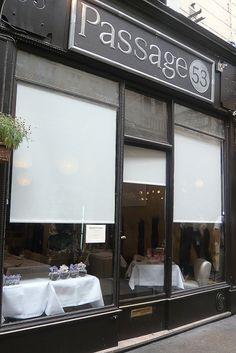 Passage 53 // Japanese-French by Chef Shinishi Sato  (53, Passage des Panoramas  75002 Paris, France)**    t: +33 (0)1 42 33 04 35