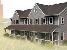 Quality First Home Improvement - Brandywine Dusk #gaf #timberline #roof #shingles #home - Construction - Reviews - GAF Virtual Apps for your Roofing, Siding; Windows. Do it yourself - visualize and see finished product on your home before making a decision! www.QualityFirstHome.com