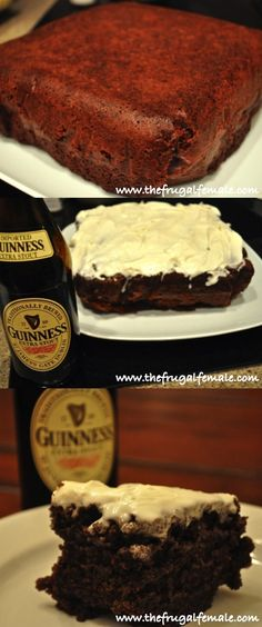 Chocolatey Guinness Cake - The Frugal Female
