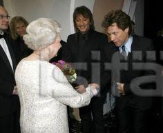 Richie and John meet the Queen