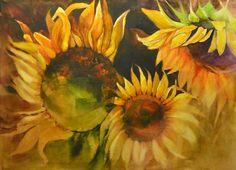 Dreaming sunflower