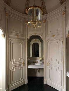 Decor Inspiration: Grand Hotel Villa Cora in Florence, Italy (Grand Interiors) Hotels Design, Rustic Furniture, Bathroom Interior, Millwork, Decor Design, Decor Inspiration, House, Modern Bathrooms Interior, Grand Hotel