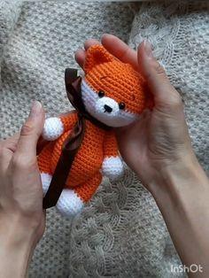cute fox Crochet pattern fox crochet pattern amigurumi fox crochet forest animal pattern amigurumi fox crochet pattern in English amigurumi toy Crochet Fox, Crochet Patterns Amigurumi, Cute Crochet, Amigurumi Doll, Crochet Dolls, Crochet Animal Patterns, Stuffed Animal Patterns, Crochet Mignon, How To Start Knitting