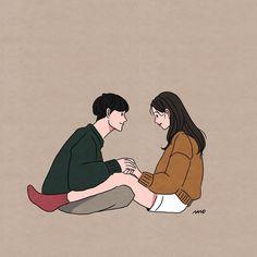 Recreate by zunaid alam Love Cartoon Couple, Cute Love Cartoons, Anime Love Couple, Cute Anime Couples, Cute Couple Drawings, Cute Couple Art, Cute Drawings, Couple Illustration, Illustration Art