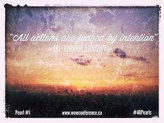 Words of Wisdom #40Pearls #Ramadan2013 #wowconference
