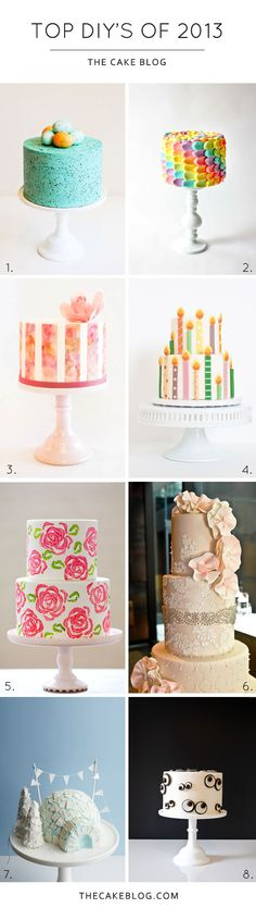 Top DIY Cake Tutorials of 2013 | TheCakeBlog.com