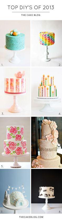 Top DIY Cake Tutorials of 2013 | TheCakeBlog.com