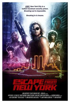 Escape from New York movie poster a Fantastic Movie posters movie posters movie posters movie posters movie posters movie posters movie Posters Best Movie Posters, Classic Movie Posters, Cinema Posters, Movie Poster Art, Classic Movies, Fiction Movies, Sci Fi Movies, Horror Movies, Science Fiction