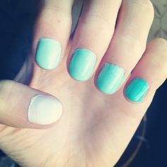 #Ombre nails but i want orange