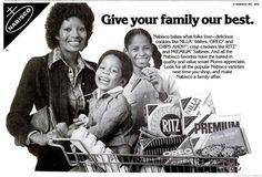 Vintage Black Ads from 1978 Vintage Love, Vintage Beauty, Vintage Black, Vintage Ephemera, Vintage Ads, Salty Snacks, Ritz Crackers, Yummy Cookies, Celebrity Gossip