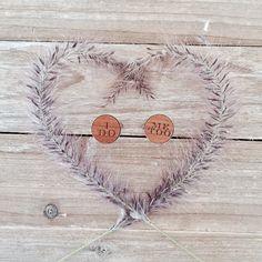 I Do Me Too Wedding Copper Vintage Cufflinks Groom gift