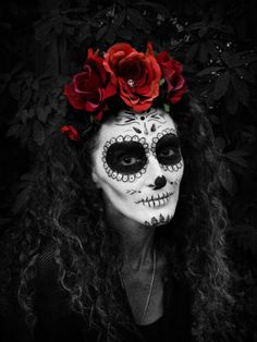 Day of the Dead - Dio De Los Muertos - Frida - Flower Headband Costume Sugar Skull