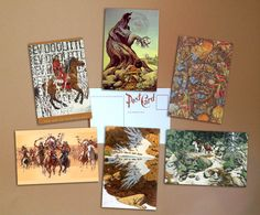 Bev Doolittle Set of 6 postcards poster от PaperBunnyWorkshop #postcards #geek #art #sale #buy #poster #prints #photo #paintings