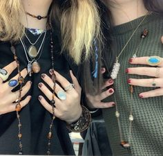 Grunge Jewelry, Hippie Jewelry, Cute Jewelry, Jewlery, Adrette Outfits, Hippie Outfits, Fashion Outfits, Estilo Hippy, Alternative Outfits