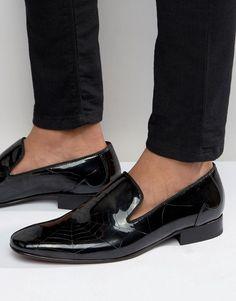4bfe51c19534f Jeffery West | Jeffery West Jung Dress Slipper Asos, Dress Shoes, Men's  Shoes,