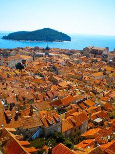Mosaic Roofs // Dubrovnik, Croatia