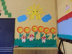 Πάω Α' και μ'αρέσει: Διακόσμηση τάξης! First Grade, Classroom Decor, Education, School, Blog, Management, Google, Blogging, Onderwijs